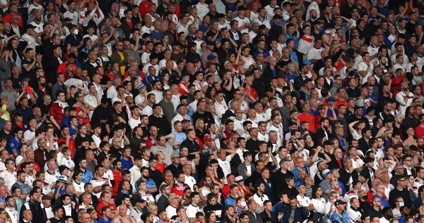England fined 30,000 euros for use of laser pointer, booing Denmark anthem