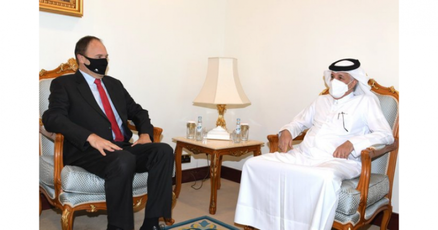Minister of State for Foreign Affairs Bids Farewell to Belgian Ambassador