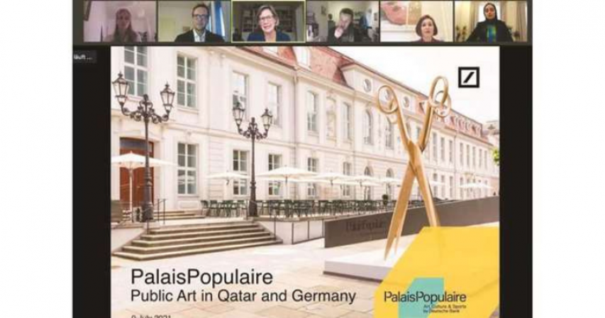 Arab Cultural House in Berlin holds dialogue on public art in Qatar, Germany