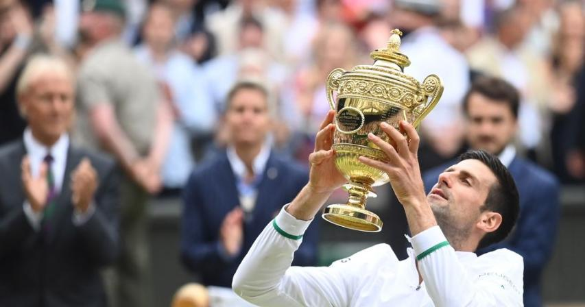 Djokovic triumphs at Wimbledon to secure record-equalling 20th major