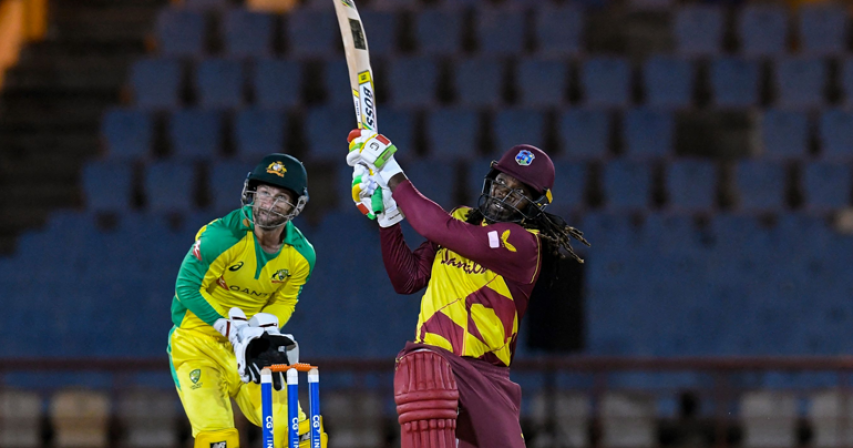 Gayle fires West Indies to T20 series victory over Australia