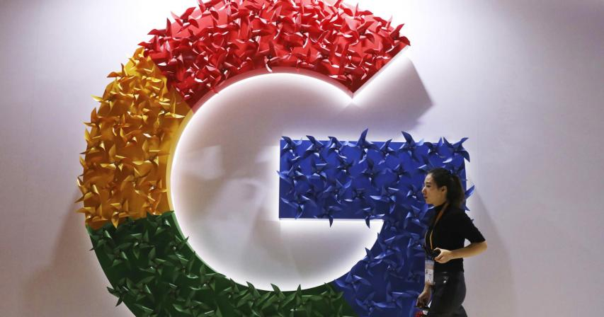 Google hit with record $593 million fine in France in news copyright battle