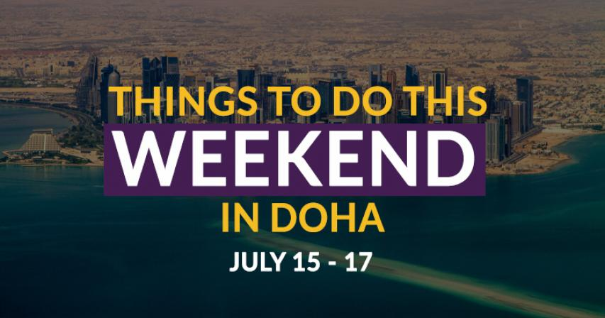Things to do this weekend: July 15 - 17