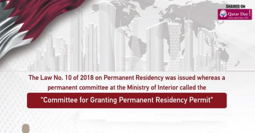 Here are the conditions to apply for Permanent Residency Card, introduced by Qatar