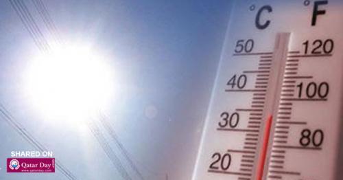 Qatar Temperature soars to 49C