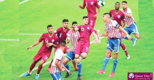 Qatar defender Bassam al Rawi urges team to battle Colombia