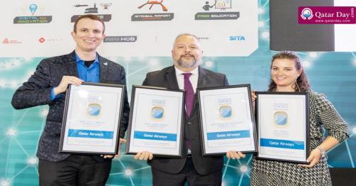 Qatar Airways wins four '2019 APEX Passenger Choice Awards'
