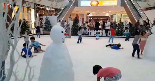 Qatars first snow-themed park opens as Eid exercises proceed in Souqs and Malls