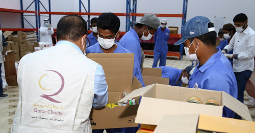 Industrial Area Workers Receive Health, Educational Aid from Qatar Authorities