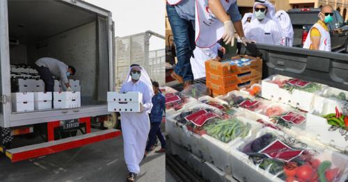Katara distributes vegetables to needy people in Qatar amid Covid-19 crisis