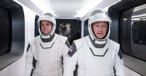 NASA sets a date for historic SpaceX launch; first SpaceX crewed flight for May 27