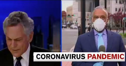 TV anchor accidentally says recovered coronavirus patient died