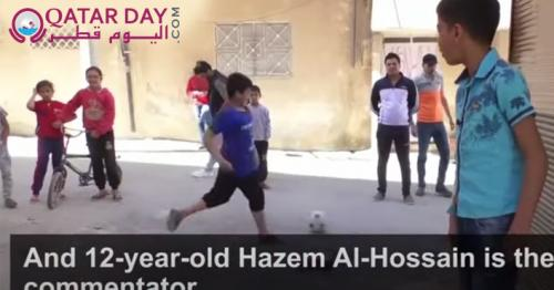 Meet Syria's 12-year-old soccer commentator star