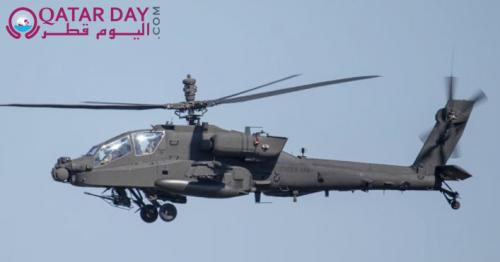 Even America doesn't have the newest Apache 6 helicopters. The first batch goes to Qatar