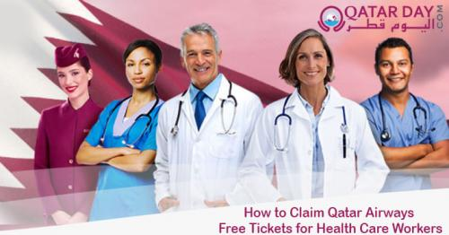 How to claim free Qatar Airways tickets for frontline workers?