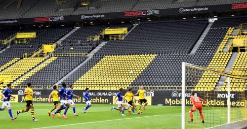 Soccer: Eerie silence across stadiums as Bundesliga restarts