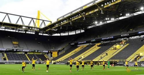 Dortmund explode into action as Bundesliga restarts with no fans