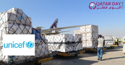 Qatar Airways Cargo supports UNICEF in transporting medical aid to Iran
