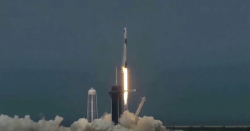 NASA and SpaceX make history by launching Americans into space from US soil