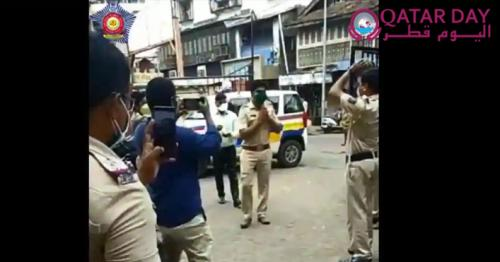 Mumbai cop joins duty after beating Covid-19, receives hero's welcome. Watch this video