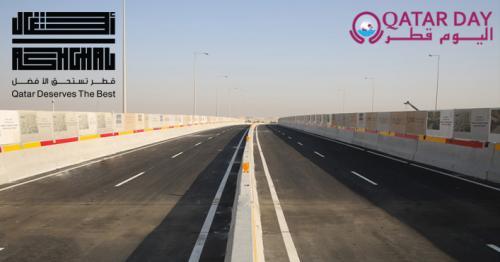Ashghal partially opens New Bridge along Sabah Al Ahmad Corridor at Bu Hamour