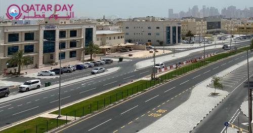 Ashghal announces completion of Al Jazira Al Arabiya Street main upgrading works