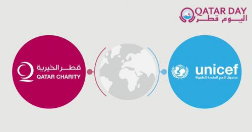Qatar Charity, UNICEF launch awareness campaign to protect children from COVID-19