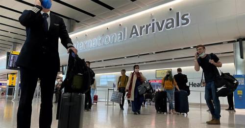 '14-days compulsory quarantine for travelers to United Kingdom'