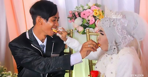 Grandmother marries her adopted son, 24, despite their 41 year age gap