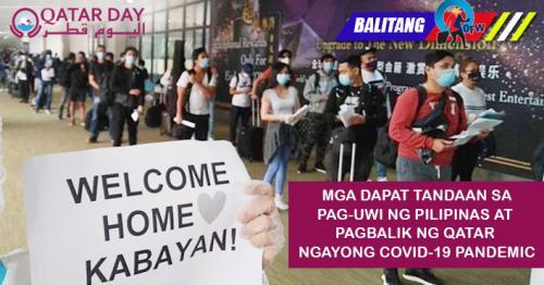 Makakauwi ba ng Pilipinas at makakabalik ng Qatar? Alamin dito