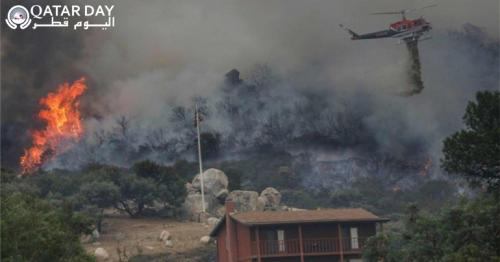 200 people rescued  in california wildfire
