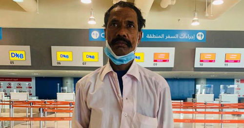 QR500,000 in fines waived, Indian worker in UAE, who overstayed for 13 years, flies home