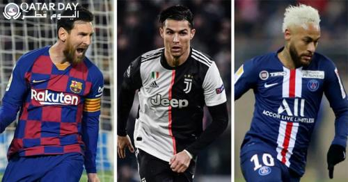 Highest Paid Footballers by Forbes