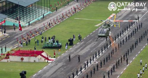 Nepal Army Helicopters at Constitution Day 2020