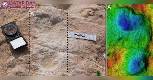 120,000-year-old footprints found in Saudi Arabia
