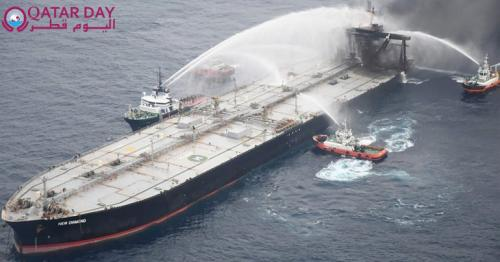 Sri Lanka to be paid $1.8 million by owner of oil supertanker that caught fire