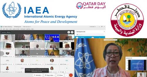 MME Discusses Technical Cooperation Projects in the Peaceful Uses of Nuclear Energy