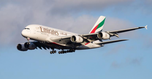 U.S. fines Emirates $400,000 for flying over Iranian airspace