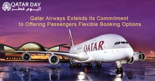 Unlimited date changes for tickets issued before Dec. 31 and more booking options from Qatar Airways