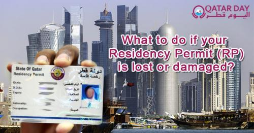 What is the new process in reporting lost or damaged Residence Permits?