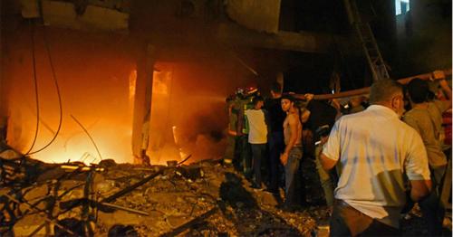 Lebanon explosion: Deadly fuel tank blast rocks Beirut