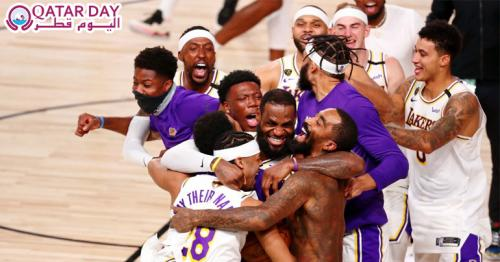 Los Angeles Lakers 17th NBA title