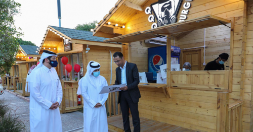 For Qatar Food Lovers! Katara gets a food street where you can park you car and order in