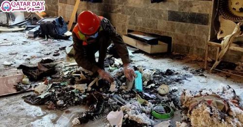 Blast in Peshawar Pakistan