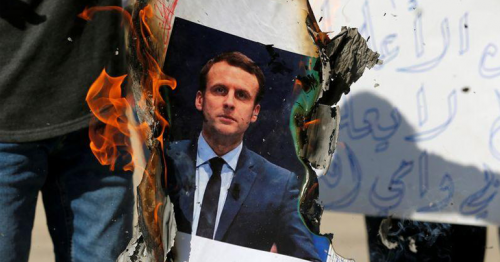 France warns citizens to be cautious as anger seethes in Muslim world over cartoons