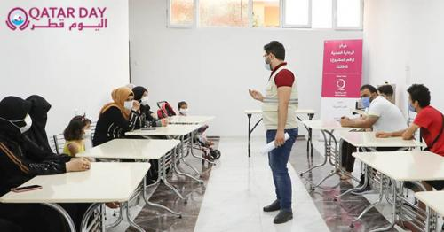 Qatar Charity establishes two centers to care for Syrian refugees with cancer