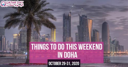 Things to do this weekend in Doha (October 29-31)