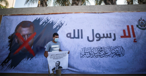 Saudi condemns French cartoons abusive to Muslims, but does not support boycott