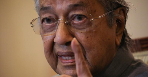 Muslims have 'right to punish' French, says Malaysia's Mahathir