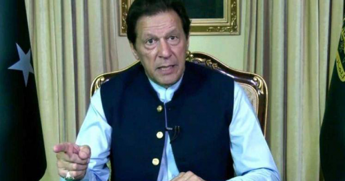 Pakistan PM Imran Khan vows to rid the world of Islamophobia, blasphemy